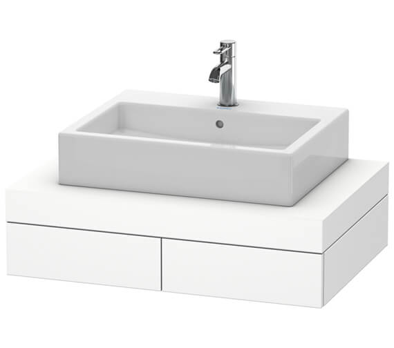 Duravit Fogo 800 x 550mm Central Cut Out Console With 2 Drawer