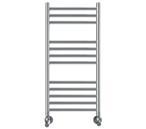 Vogue Chube 400mm Width Stainless Steel Straight Towel Rail