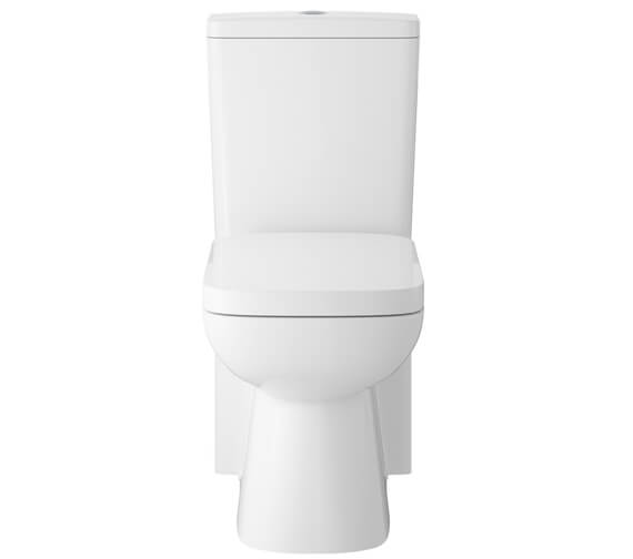 Hudson Reed Arlo Compact Flush To Wall Toilet With Soft Close Seat