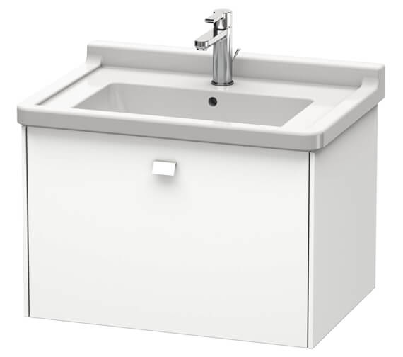 Duravit Brioso Wall Mounted 1 Drawer Vanity Unit For Starck 3 Basin