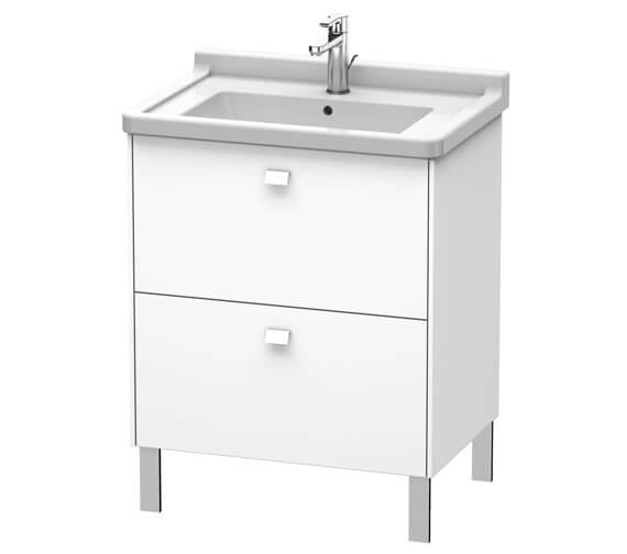 Duravit Brioso Floor Standing 2 Drawer Vanity Unit For Starck 3 Basin