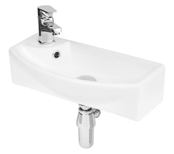Hudson Reed Vessel 450 x 220mm Basin With 1 Tap Hole