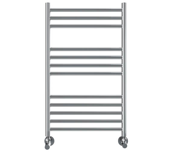 Vogue Chube 500mm Width Stainless Steel Straight Towel Rail