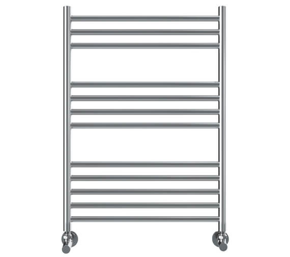 Vogue Chube 600mm Width Stainless Steel Straight Towel Rail