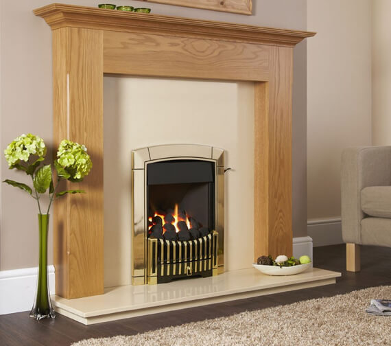 Flavel Caress Plus Contemporary Full Depth Inset Gas Fire