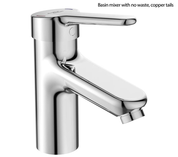 Armitage Shanks Contour 21+ Single Lever One Hole Basin Mixer Tap - DDA Compliant