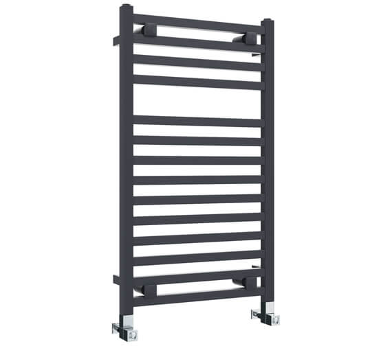 Vogue Squire 480mm Width Mildsteel Straight Towel Rail