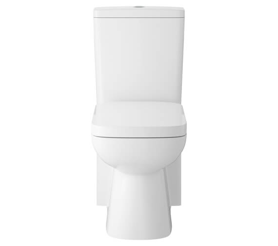 Hudson Reed Arlo 350 x 630mm Closed Coupled Toilet With Soft Close Seat