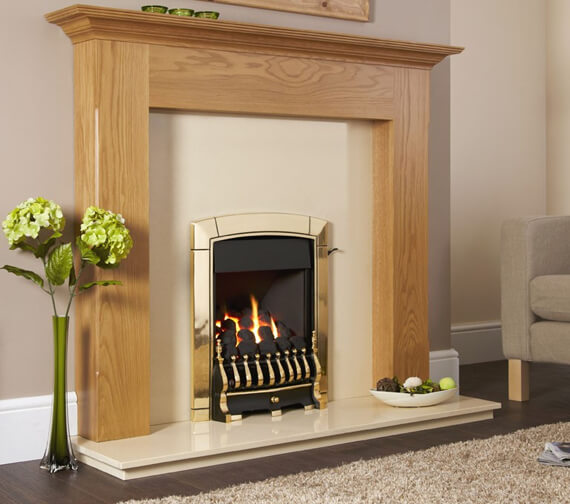 Flavel Caress Plus Traditional Full Depth Inset Gas Fire