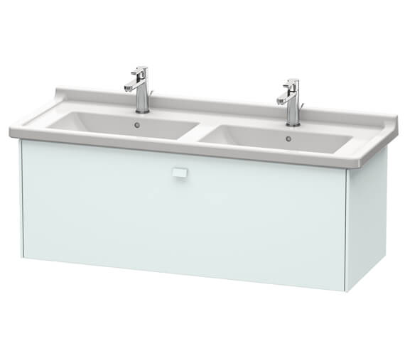 Additional image of Duravit Brioso Wall Mounted 1220mm 1 Drawer Vanity Unit For Starck 3 Basin