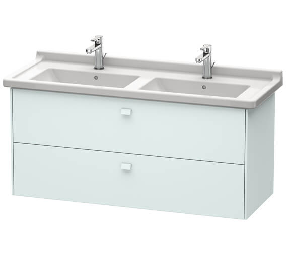Additional image of Duravit Brioso Wall Mounted 1220mm 2 Drawer Vanity Unit For Starck 3 Basin