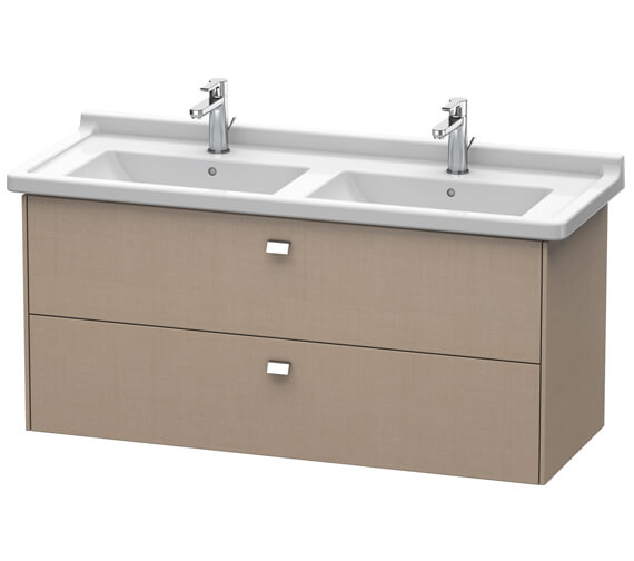 Alternate image of Duravit Brioso Wall Mounted 1220mm 2 Drawer Vanity Unit For Starck 3 Basin