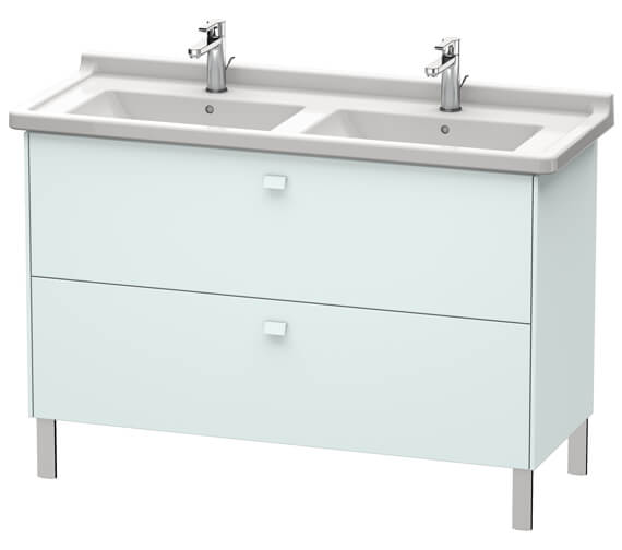Additional image of Duravit Brioso Floor Standing 1220mm 2 Drawer Vanity Unit For Starck 3 Basin