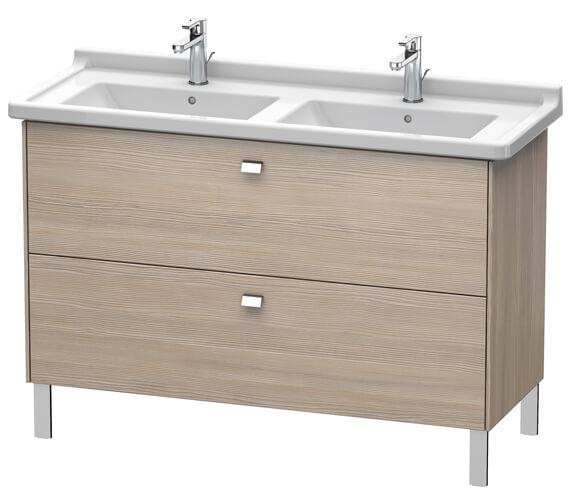 Alternate image of Duravit Brioso Floor Standing 1220mm 2 Drawer Vanity Unit For Starck 3 Basin