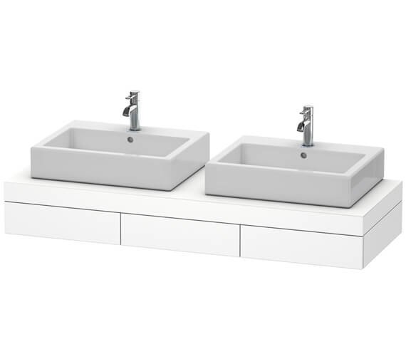 Duravit Fogo 1500 x 550mm 2 Cut Out Console With 3 Drawer