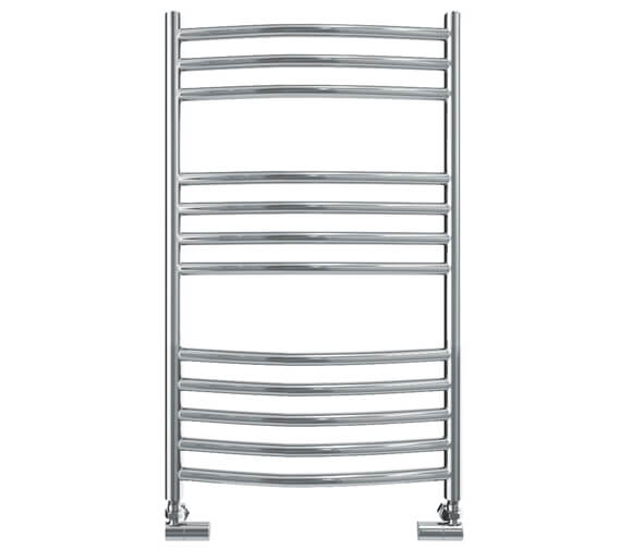 Vogue Kerve 500mm Width Stainless Steel Curved Towel Rail