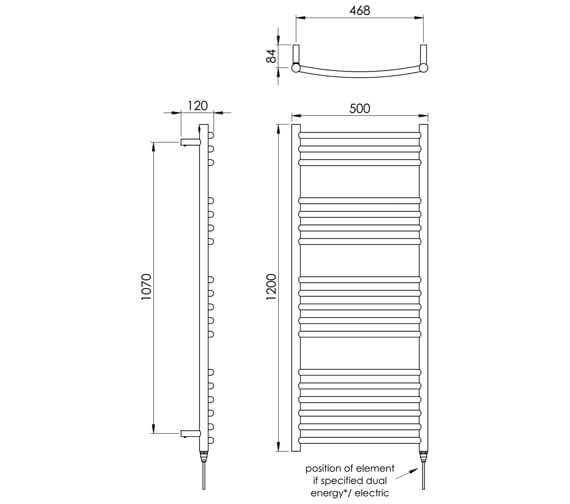 Technical drawing QS-V88532 / MD036 SS0800500PS