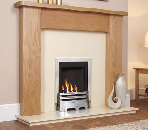 Flavel Windsor Classic Manual Control Slimline Inset Gas Fire