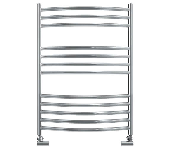 Vogue Kerve 600mm Width Stainless Steel Curved Towel Rail