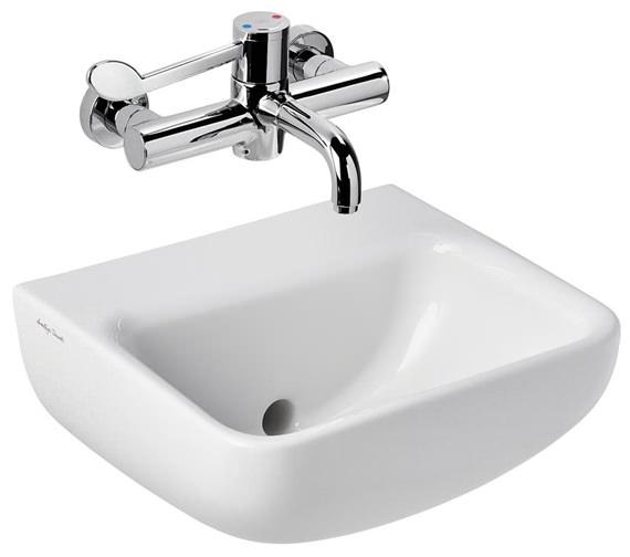 Armitage Shanks Contour 400mm Back Outlet Washbasin