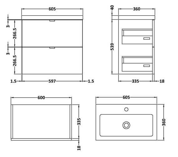 Technical drawing QS-V98007 / CBI130