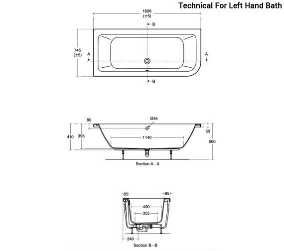 Technical drawing QS-V96088 / E152501