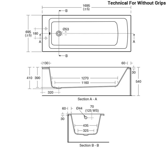 Technical drawing QS-V96084 / E256501