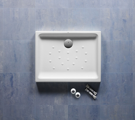 Roca Malta 80mm High Shower Tray With Anti-Slip Base