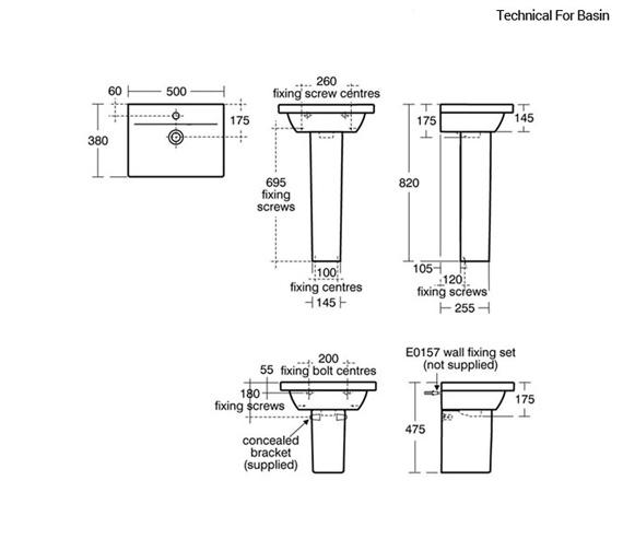 Technical drawing QS-V89406 / E0312WG