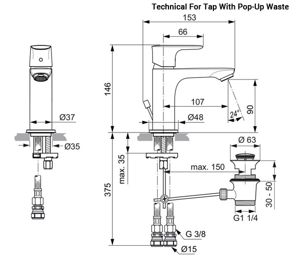 Technical drawing QS-V96093 / A7048AA