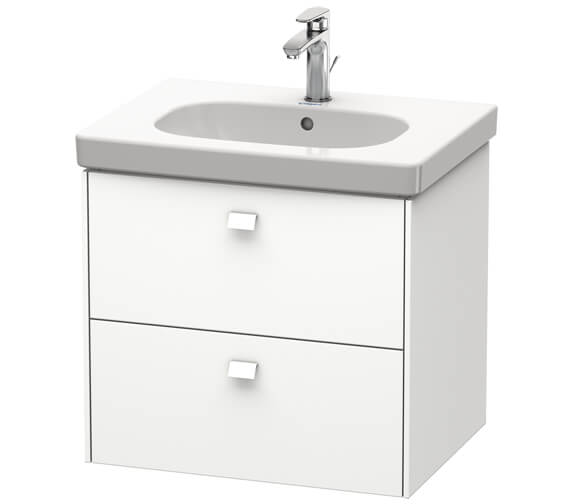 Duravit Brioso Wall Mounted 2 Drawer Vanity Unit For D-Code Basin