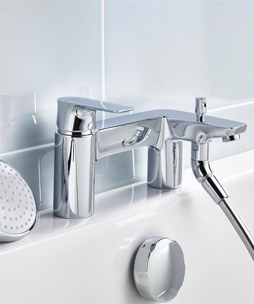 Ideal Standard Concept Air 2 Hole Bath Shower Tap
