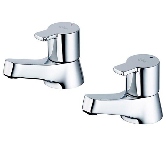 Ideal Standard Calista Pair Of Bath Pillar Tap