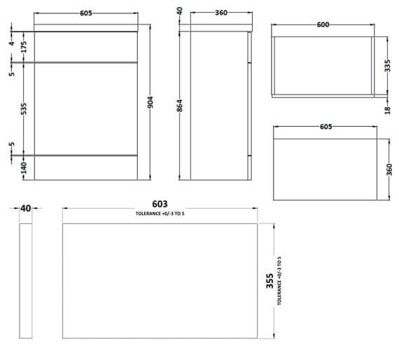 Technical drawing QS-V90148 / CBI320