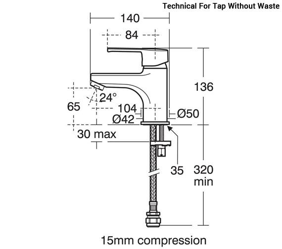 Technical drawing QS-V96101 / B1149AA
