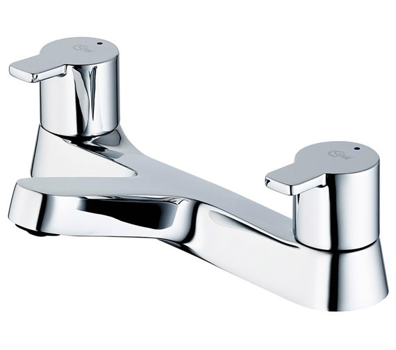 Ideal Standard Calista Dual Control Bath Filler Tap