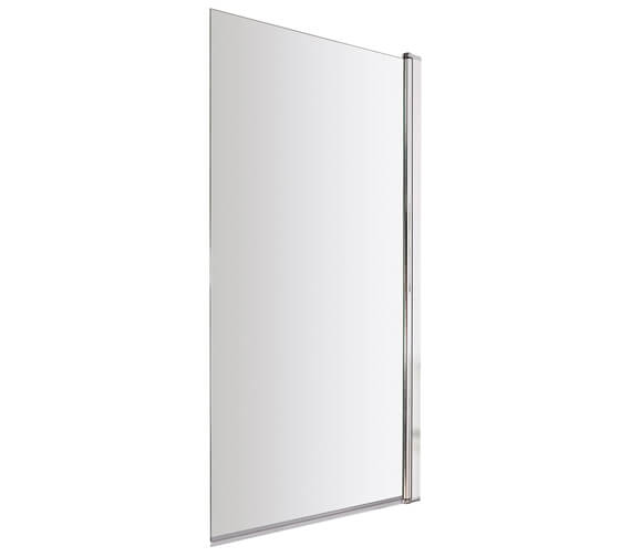 Hudson Reed 1435mm High Square Bath Screen