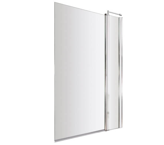 Additional image of Hudson Reed 1435mm High Square Bath Screen