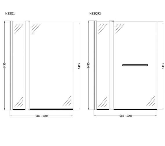 Technical drawing QS-V4973 / NSS1