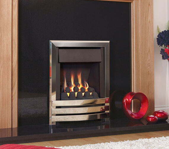 Flavel Windsor Contemporary Plus Manual Control Slimline Inset Gas Fire
