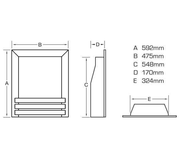 Technical drawing QS-V90881 / FSPCU0MN
