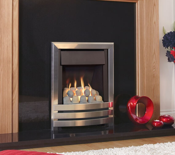 Additional image of Flavel Windsor Contemporary Plus Manual Control Slimline Inset Gas Fire