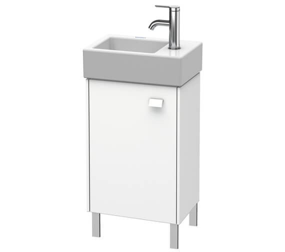 Duravit Brioso Floor Standing 364mm Wide 1 Door Vanity Unit With Vero Air Basin