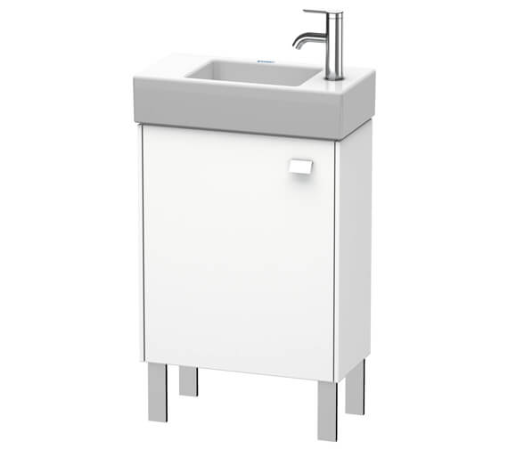 Duravit Brioso Floor Standing 484mm Wide 1 Door Vanity Unit For Vero Air Basin