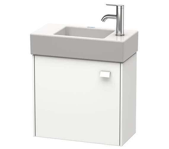 Duravit Brioso Wall Mounted 484mm Wide 1 Door Vanity Unit For Vero Air Basin