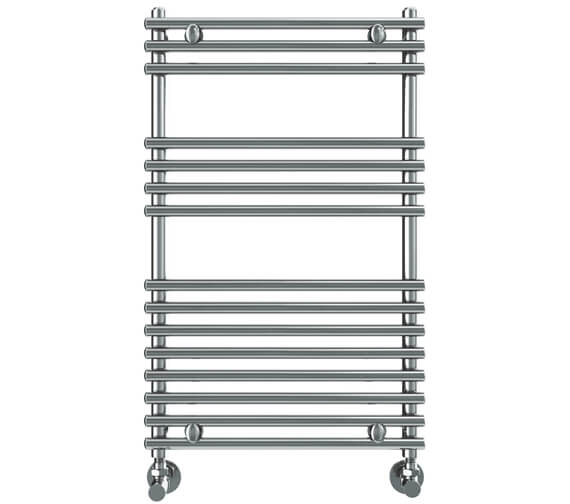 Vogue Stella 450mm Width Stainless Steel Straight Towel Rail