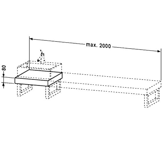 Technical drawing QS-V4501 / FO089C04040