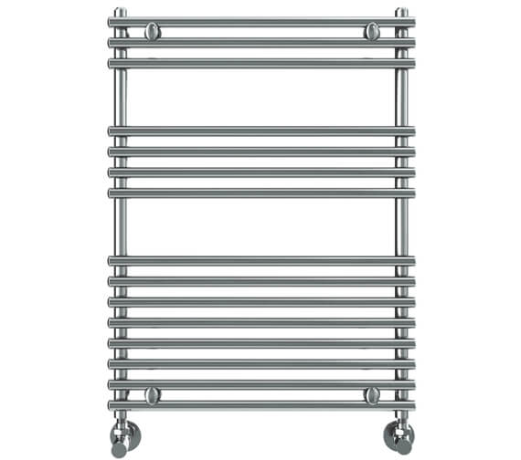 Vogue Stella 600mm Width Stainless Steel Straight Towel Rail