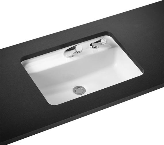 Armitage Shanks Contour 21 Rectangular 1 Taphole Under Countertop Washbasin - 550mm