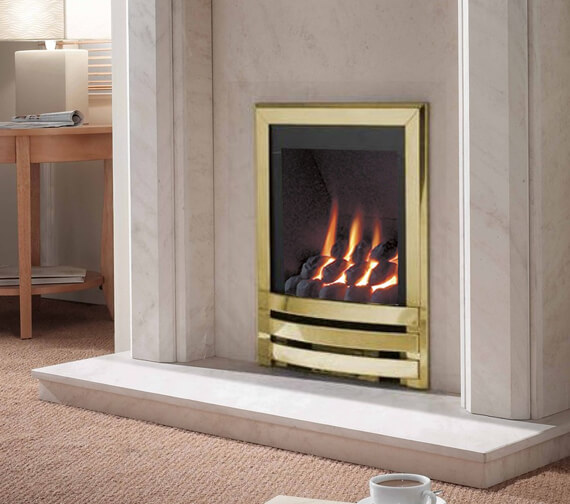 Alternate image of Flavel Windsor Manual Control Contemporary Gas Fire